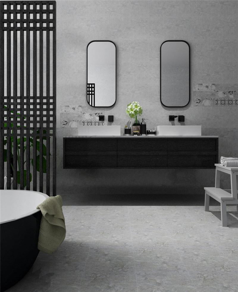Chine 300x600mm Gris Brillant Pour Carrelage Mural En Ceramique