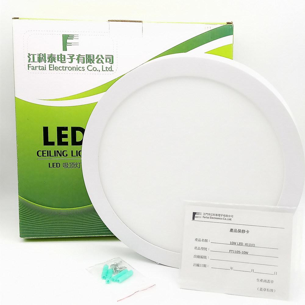 Standardgrößen fasten der Anlieferungs-IP44 der Wand-Oberfläche eingehangenes 6W 18W quadratisches des Umlauf-LED Licht Leuchte-des Cer-LED