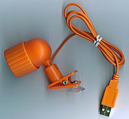 Licht des USB-Klipp-LED
