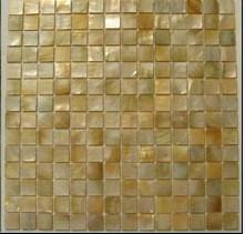 Formato de Círculo de mosaico do mosaico da Shell (CMS004-W)