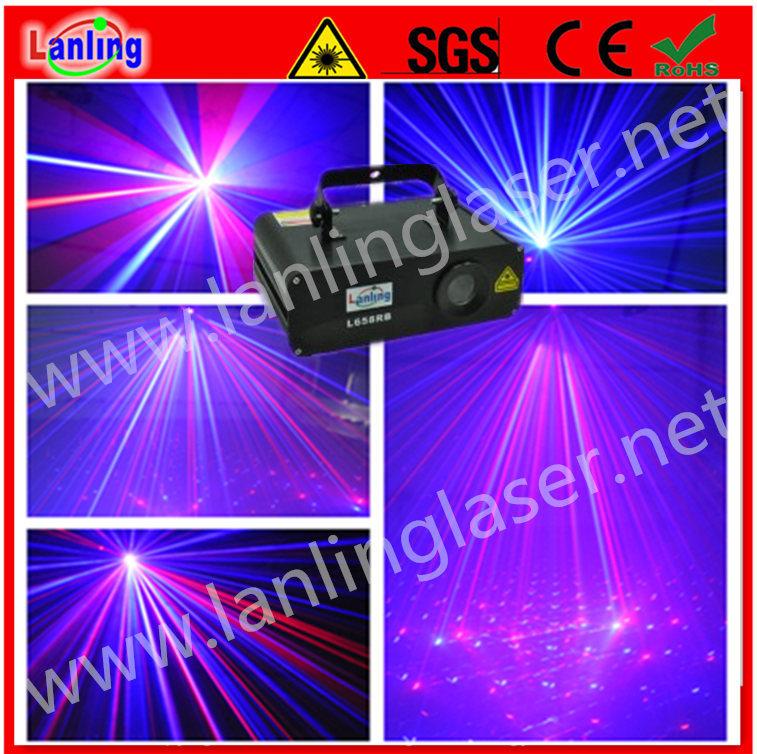 Мерцание звезд лазерное шоу перемещение головки Disco освещения