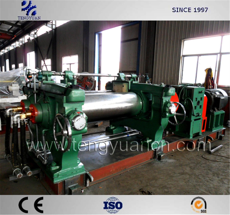 中国 優秀な16inchゴム製混合製造所、2つのローラーのゴム製混合
