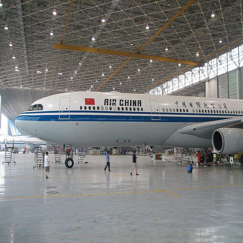 Almacén de hangar de aviones de acero prefabricados