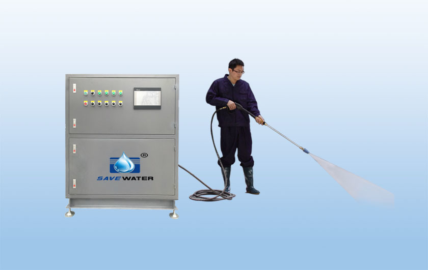 Sistema ad alta pressione centralizzato intelligente di pulizia