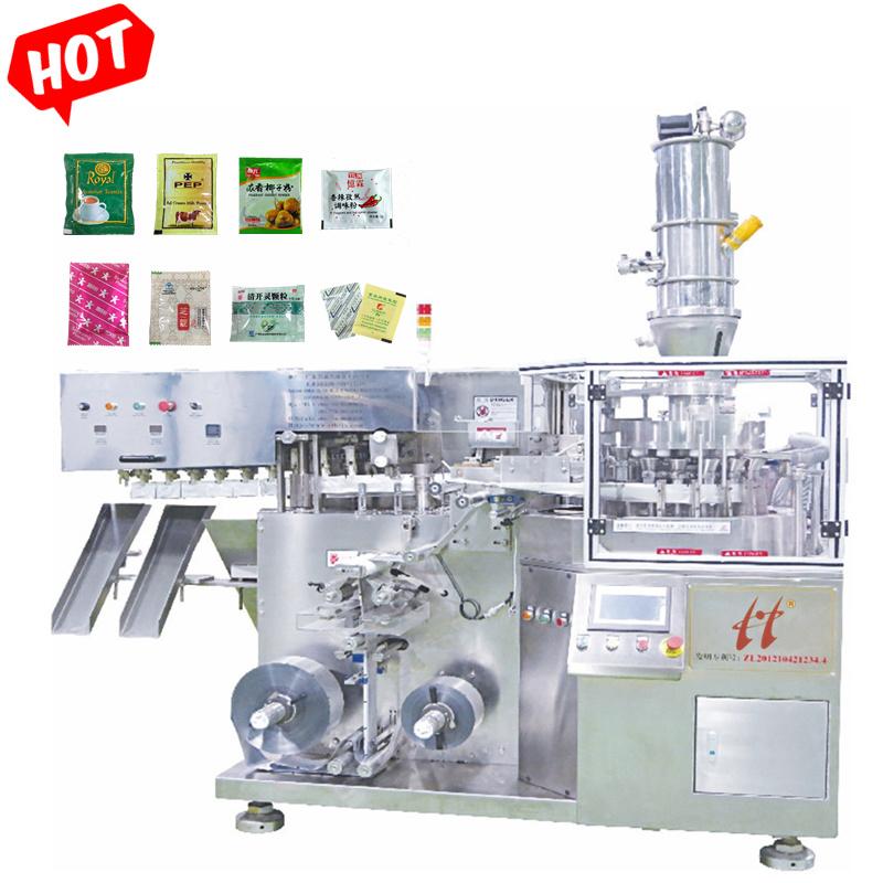 High Speed automatische etui die Chili-poeder/gemalen koffie/OAT vormen Verpakkingsmachine voor het vullen van meel