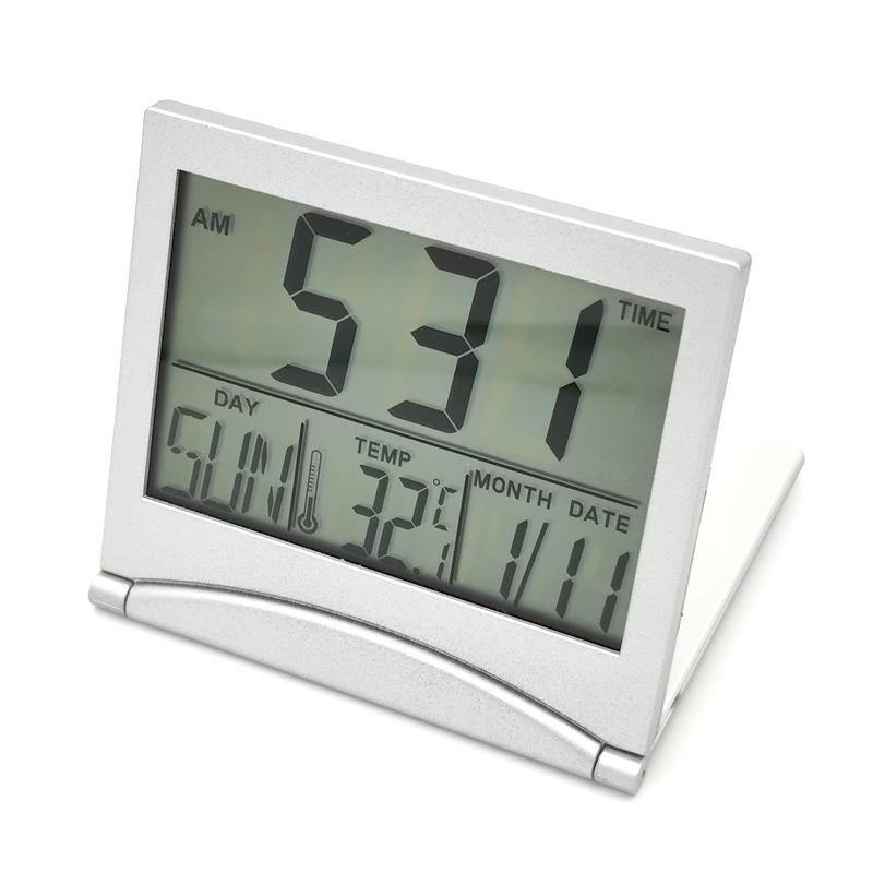 電子表の目覚し時計の腕時計のデジタル温度のカレンダ