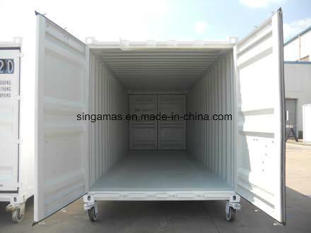 Dnv Certificación2.7-1 20ft Contenedor de la puerta de doble extremo