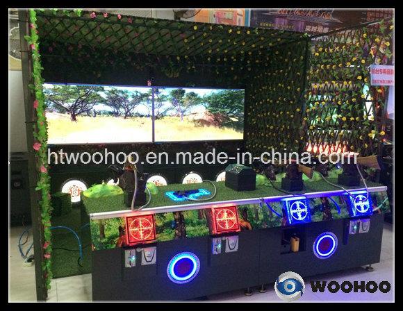 Parque Infantil interior Hunter Alliance (Quatro Player) máquina de jogos de tiro