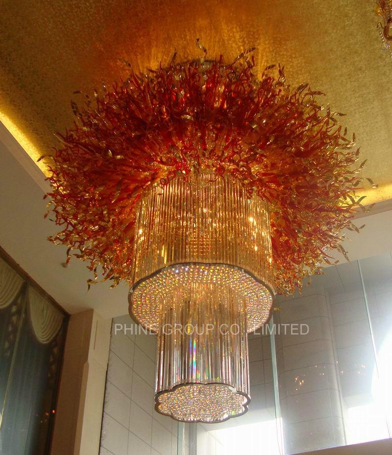 de Irregular extravagante Villa Phine Cristal China Lámpara 435AjRLq
