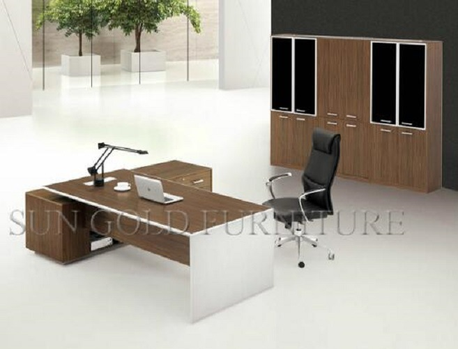 Mobilier de bureau moderne simple boss executive office desk sz
