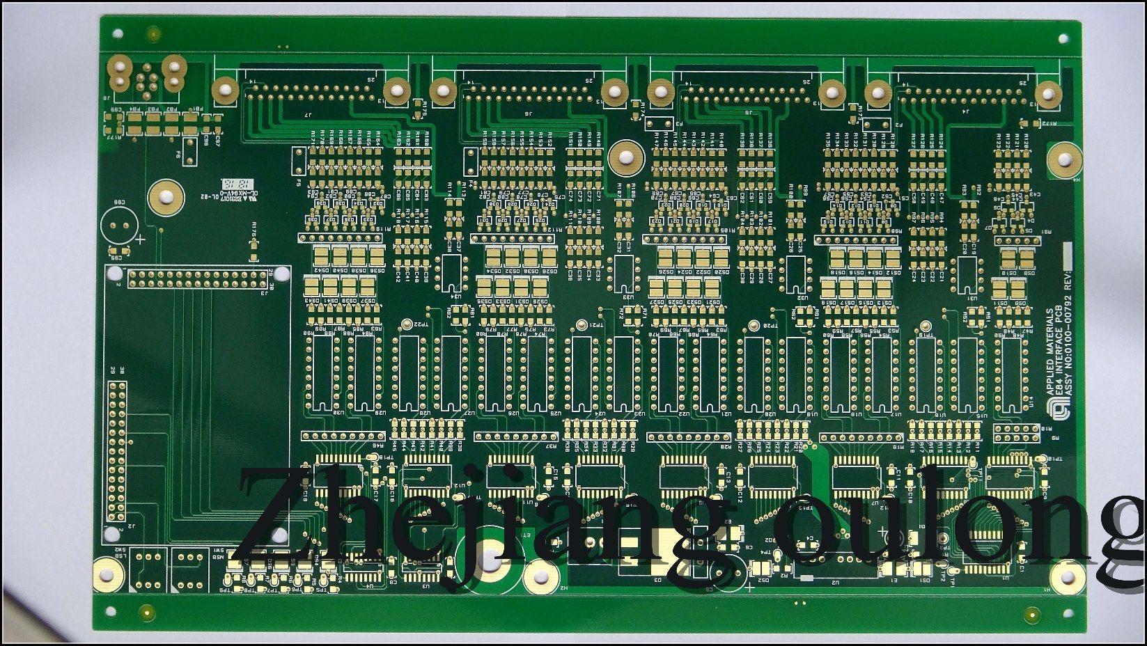 Circuito Impreso : Foto de cooper multi lay hasl placa de circuito impreso s en