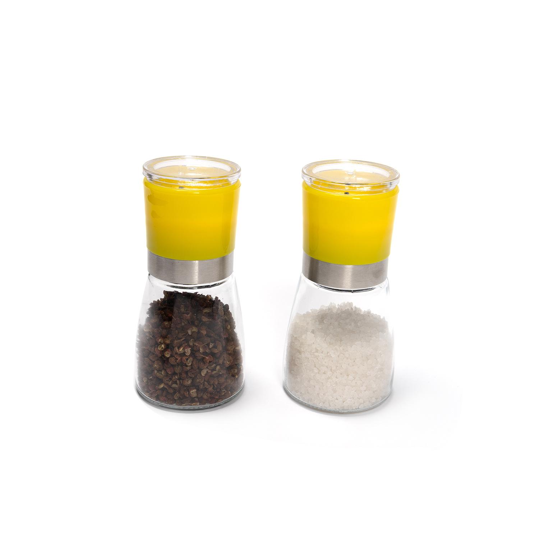 La alta calidad 170 ml molinillo de pimienta sal moler especias comercio al por mayor