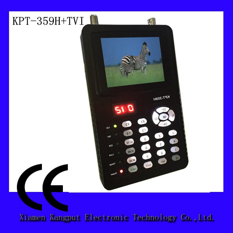 ほとんどの普及したDVB-S2デジタル表示装置の衛星ファインダーのメートルKpt-359h+Tvi