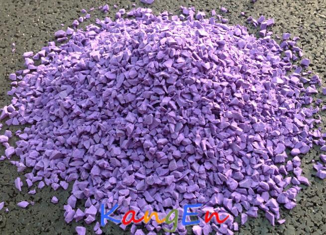 Suelos de caucho EPDM Non-Toxic (KE09 violeta)