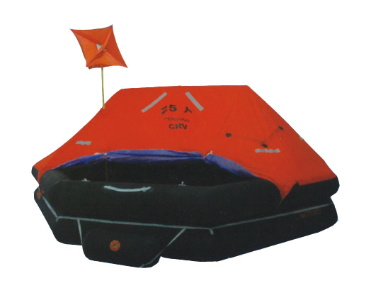 Throw-Over Type Inflatable Life Raft (CRVF-A15 CRVF-A20 CRVF-A25)