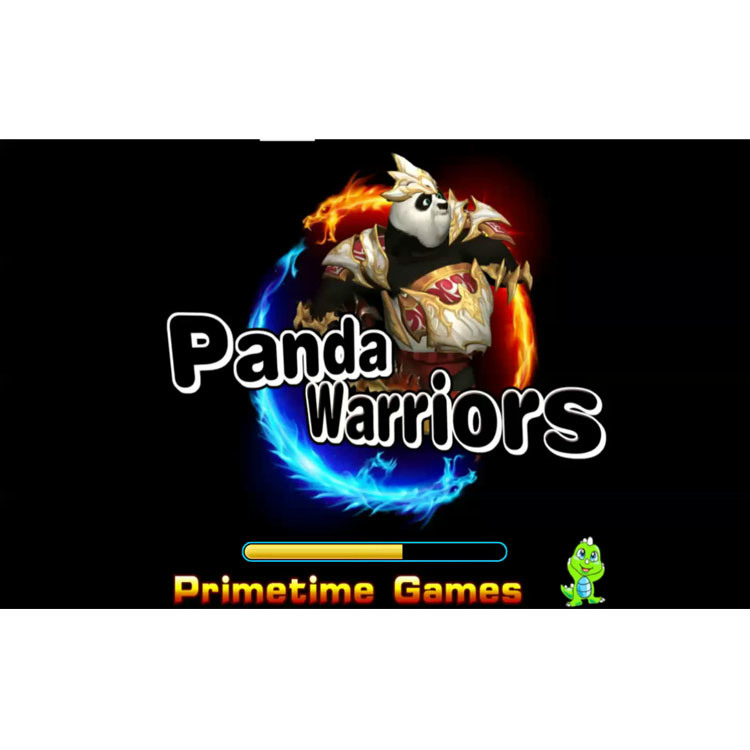 Guerrieri 2019 del panda che sparano i kit di gioco della macchina della Tabella del gioco della galleria di abilità del cacciatore dei pesci