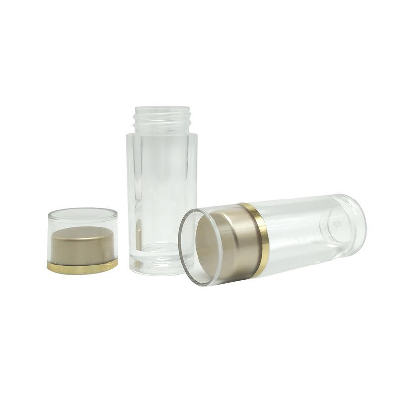 25ml Acrilico PMMA Multi-Purposes botellas tarros de caramelos de píldora para las tabletas de cápsula