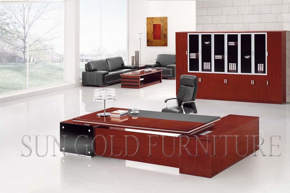 Bureau simple l meubles de manger de bureau de luxe de prÉsident