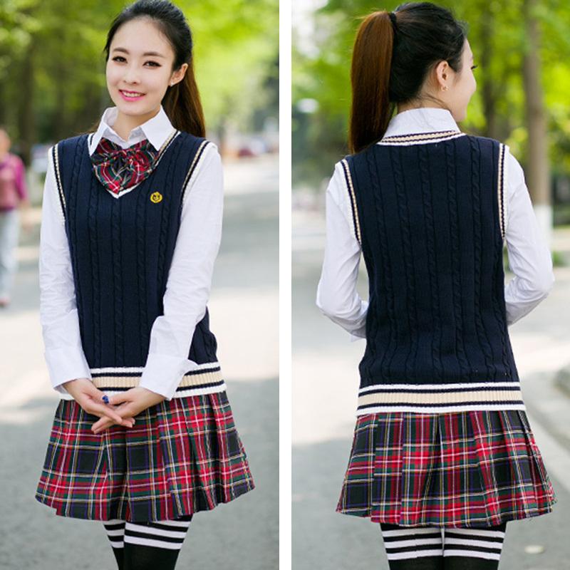 64471a285a78d Foto de Cuadros escoceses uniformes escolares