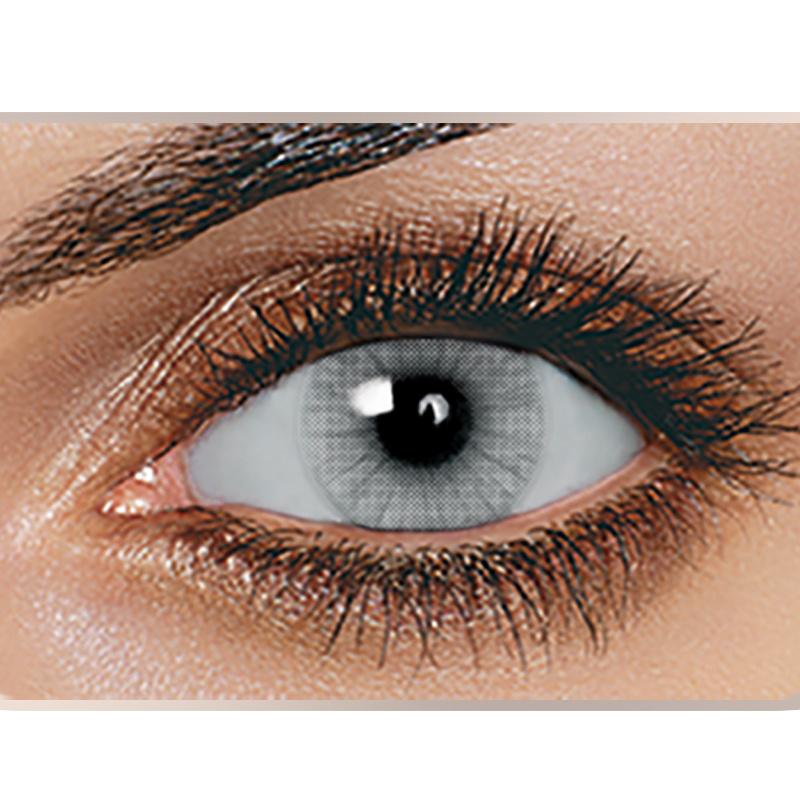 c5f350b816 Foto de Solotica Hidrocor lentes de color gris hielo lentes de ...