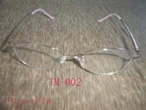 Châssis optique de titane (TM002)