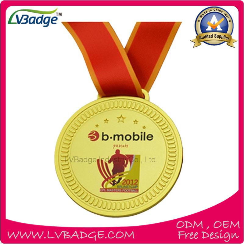 8925535902a4 Foto de 3D Diseño personalizado de bronce medalla de oro y plata ...