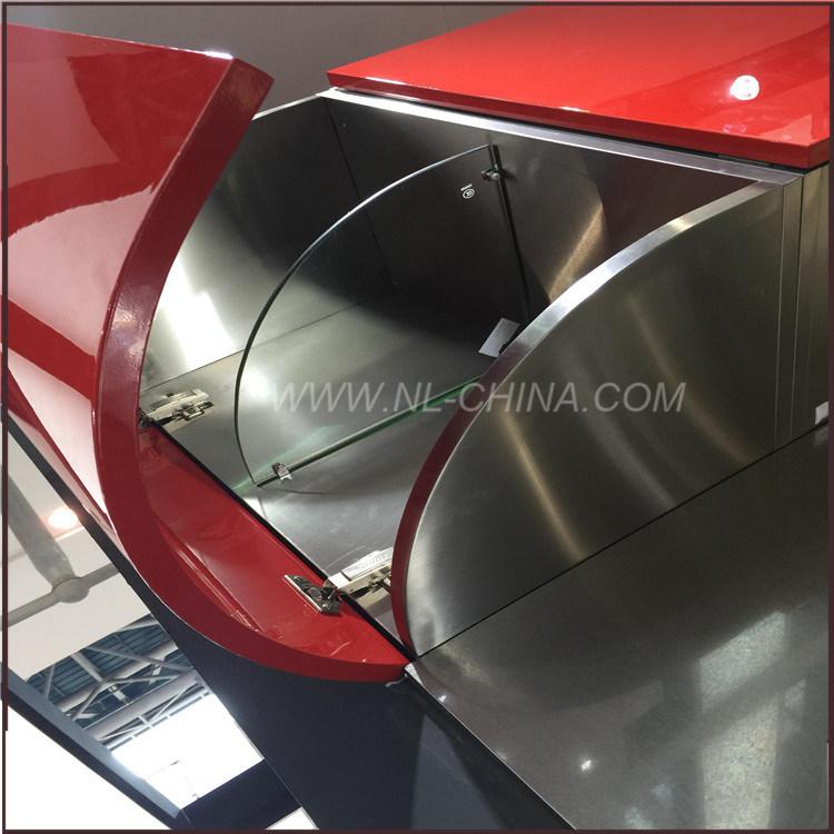 Foto de Modular de acero inoxidable Muebles de cocina armario de ...