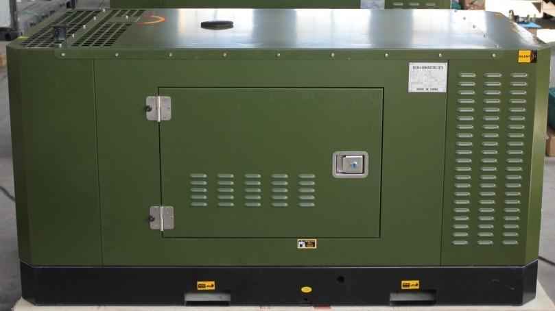 Slient Dieselgeneratoren 21kw-50kw