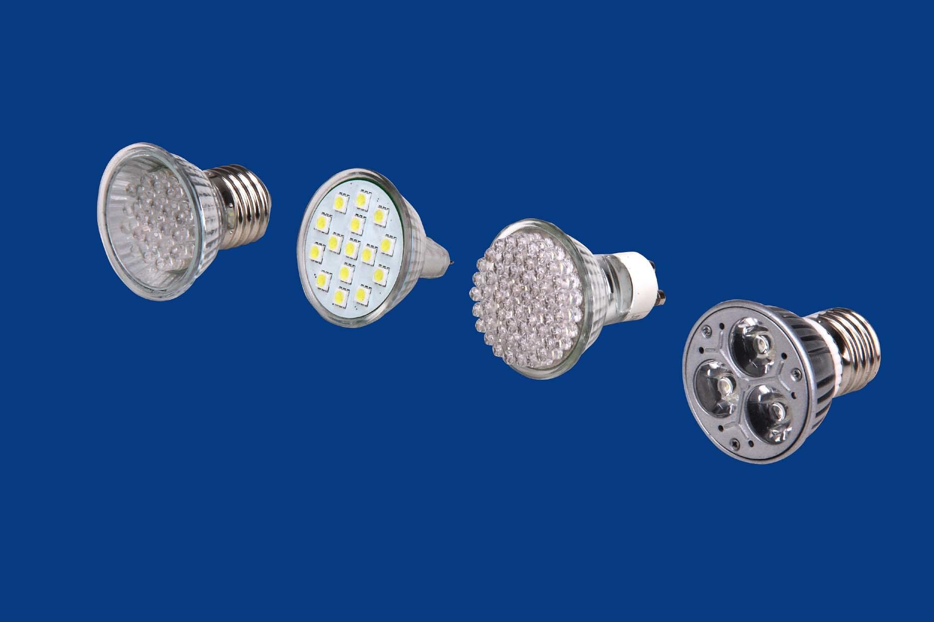 Lâmpada LED (E27, E14, GU10, Senhor16)