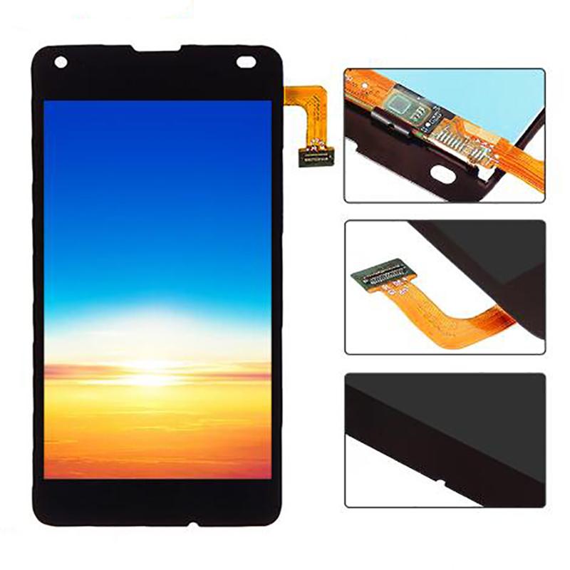 Venda por grosso de AAA do grau de ecrã LCD do telefone celular para o Nokia Lumia 550 Visor LCD