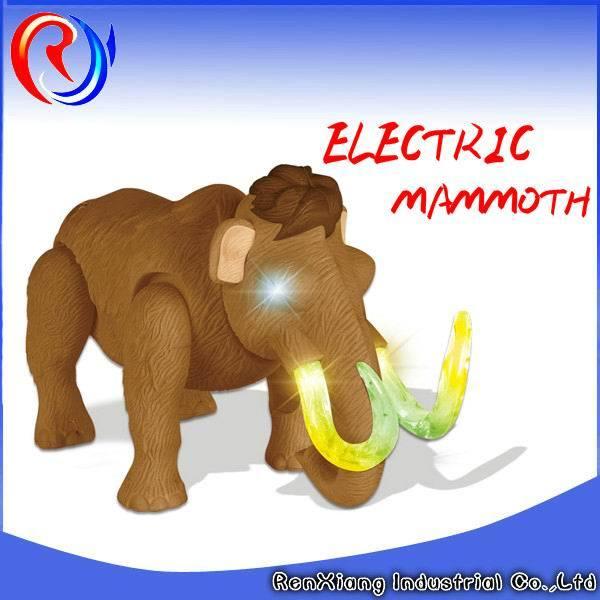mammut giocattolo  Mammut a pile di plastica del giocattolo del capretto – Mammut a ...