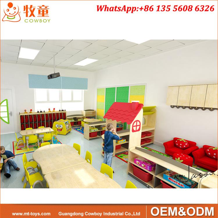 Foto de Aula de Kindergarten muebles, Guardería de muebles para ...