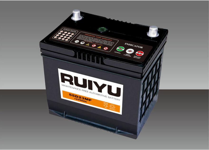 JIS 12V45Ah sans entretien scellées au plomb-acide de batterie automatique