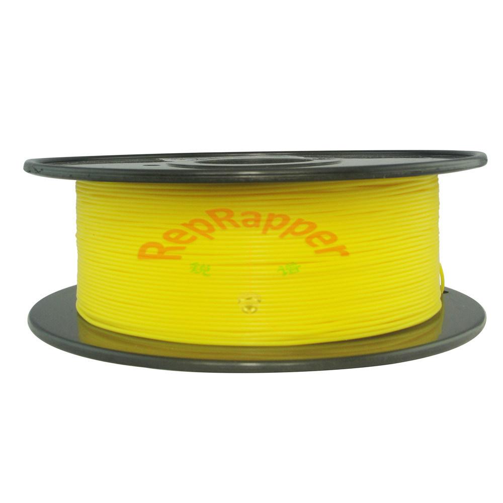 Y enrollando el Pla de 1,75mm amarillo de filamentos de impresión 3D