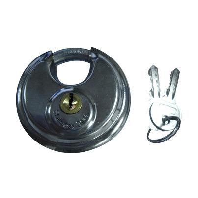 Boa qualidade e cadeado de Disco em Aço Inoxidável