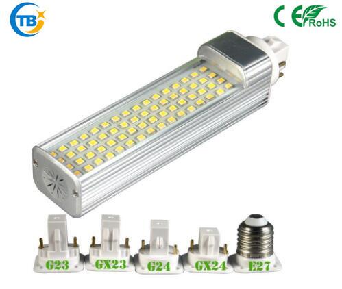 Хорошего качества с регулируемой яркостью светодиодный разъем лампы лампы для кукурузы LED G24 Pl лампы