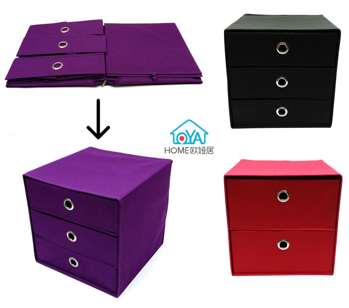 Caja de almacenamiento con armario de las capas de cajón/ Bra&Underwear Box// Organizador cosméticos artículos de verificación