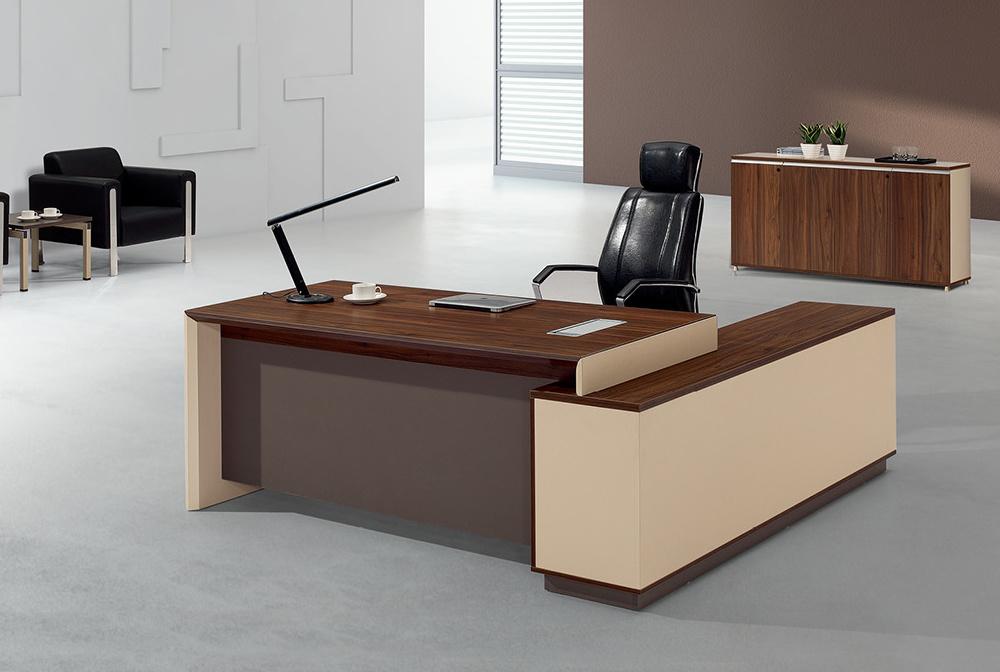 Muebles modernos de wodden de la tabla de la oficina de for Lista de muebles de oficina
