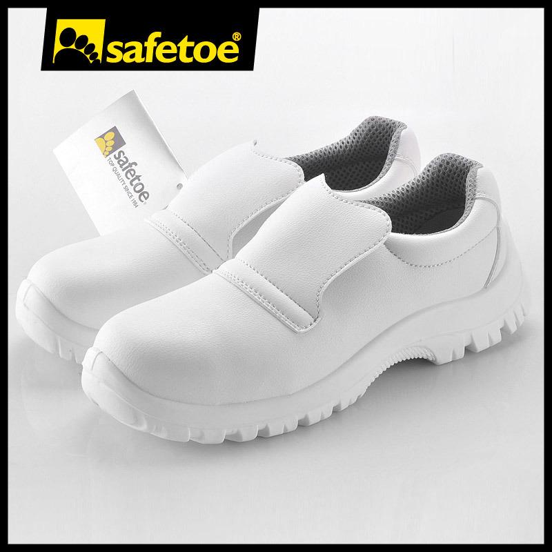 Blanco Foto Zapatos Médico 7201 Transpirable S2 De L Trabajo Src CCx6w5