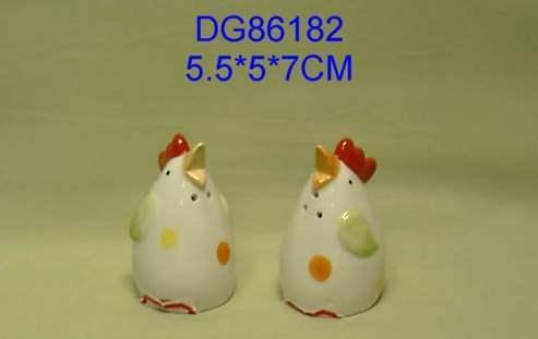 La dolomie de sel et poivre avec du poulet Design (DG86182)