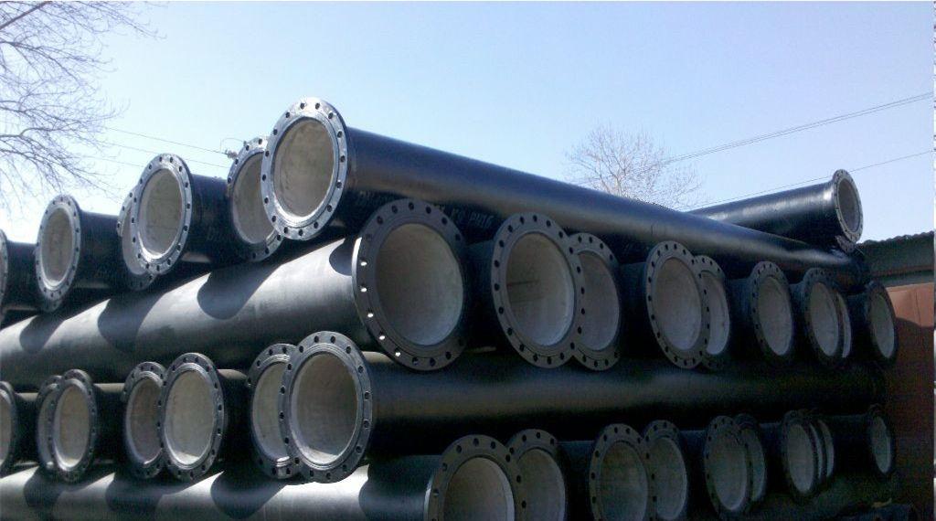 Tubo de ferro dúctil