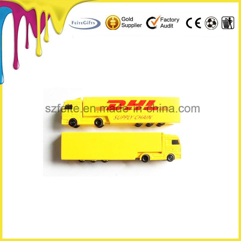 트럭 모양 USB 섬광 드라이브 콘테이너 USB 플라스틱 저속한 드라이브