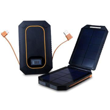 6の000mAh Solar Charger Portable Battery Charger Powerバンク