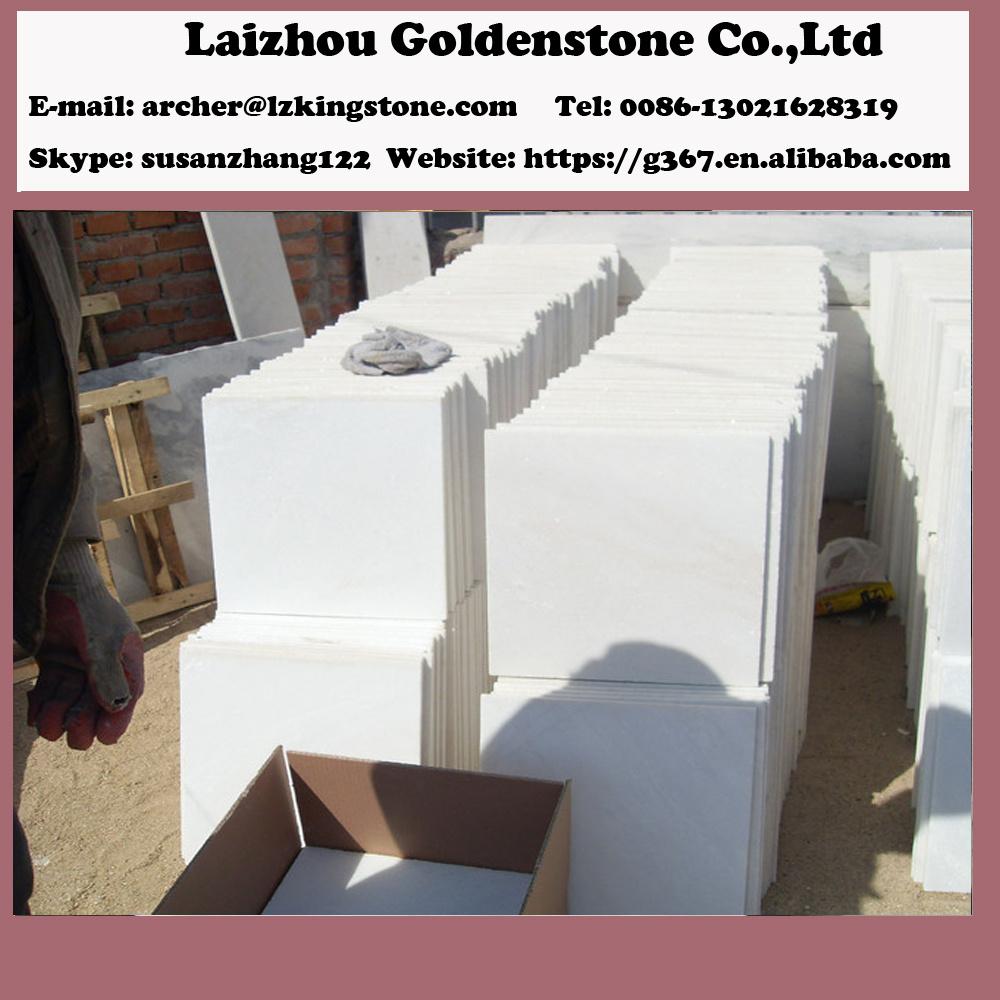 Marbre Blanc Sol Prix la chine de couleur blanche neige pierres de marbre blanc