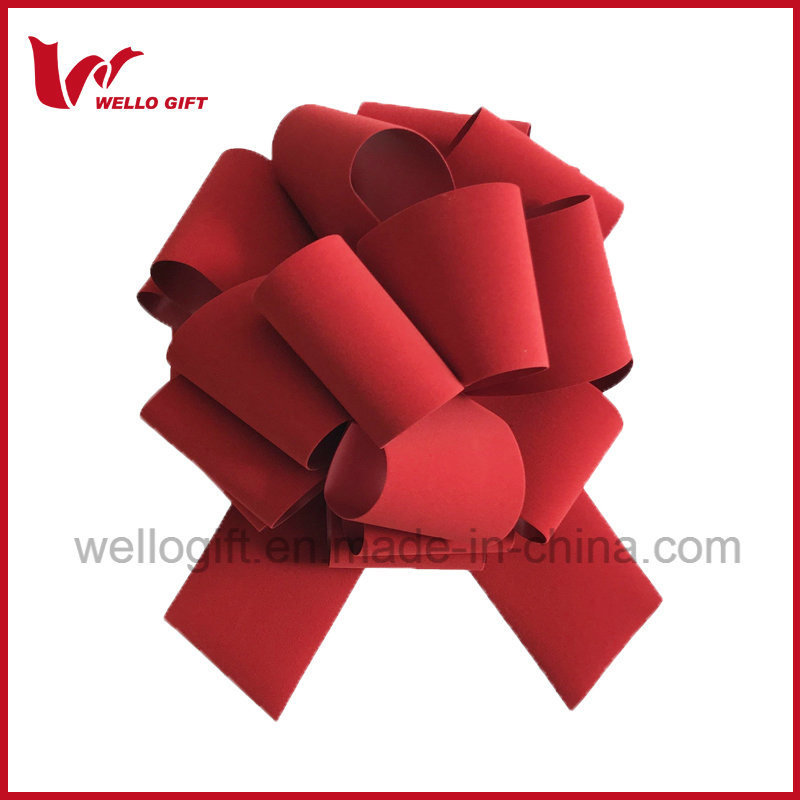 2018 Red Velvet Holiday Decoration Pull Bows Fabrikant