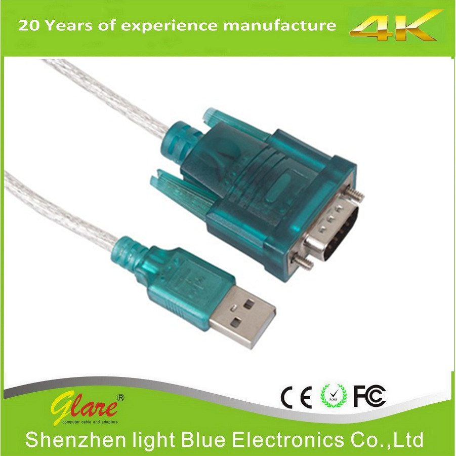 RS232 연속되는 dB9 케이블에 USB 2.0