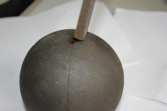 durezza stridente ad alto tenore di carbonio delle sfere d'acciaio dell'acciaio legato di 140mm ultra e nessuna rottura