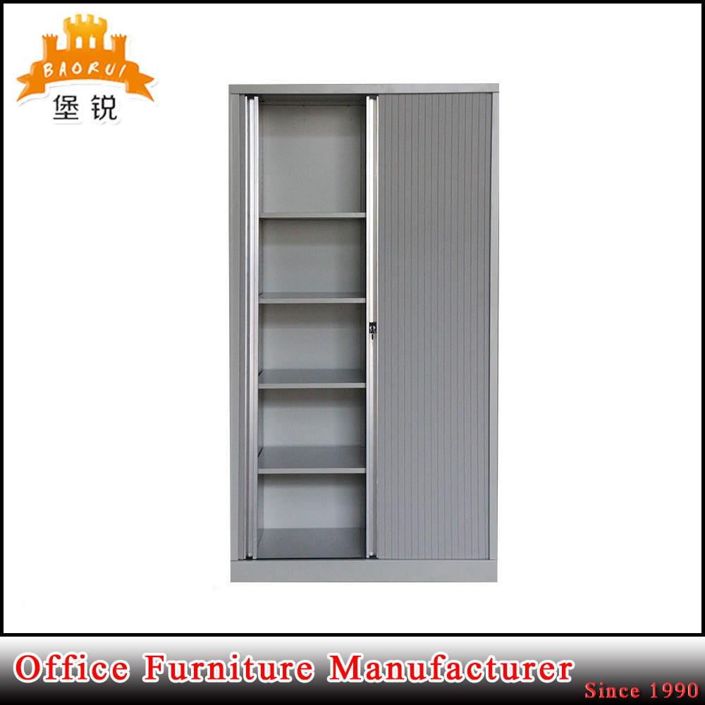 Kundenspezifischer grauer Stahlrollen-Blendenverschluss-Tür-Büro ...