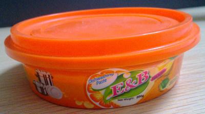 オレンジ香水のDishwashingののり(OEM)