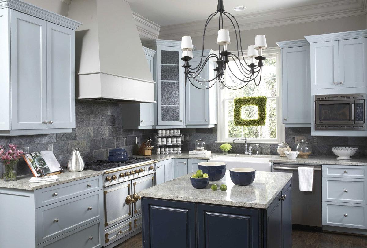 Küche-Möbel kundenspezifische moderne kleine Küche-Schränke foto auf ...